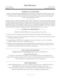 Mechanical Engineer Resume Examples Engineer Resume Samples Computer