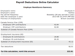 Pay Deduction Calculator Pay Deduction Calculator Magdalene Project Org