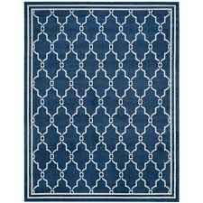 indoor outdoor area rugs 10 x 12 new safavieh amherst navy beige 8 ft x 10