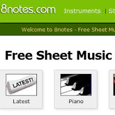8notes Piano Chord Chart 8notes Com Review For Teachers Common Sense Education