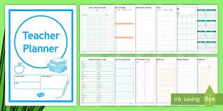 Teacher Planner Academic Year 2018 2019 Planner Diary
