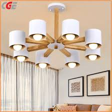 the chandelier simple creative living room lamp personality dining room bedroom study solid wood ceiling light