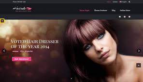 Barber Shop Website Hair Salon Website Templates Barber Shop Website Templates Themes