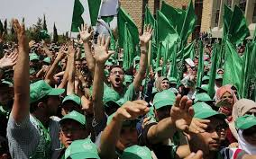 palestinian students who support the hamas movement take part in an election caign rally for the