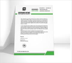 Company Letterhead Templates Interesting Company Letterhead Template Premium And Free Download For Pdf