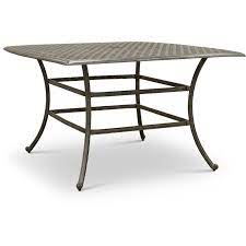 cast metal bar height patio table