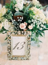 inspirational table number picture frames wedding wedding