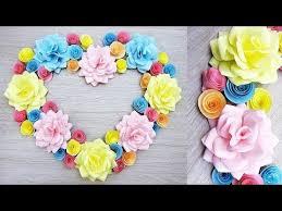diy paper craft paper heart design