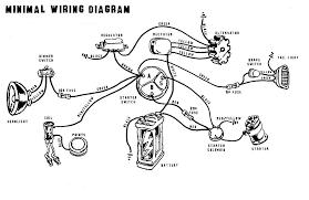 café racer wiring electrical starter