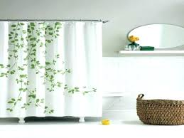 ticking stripe shower curtain french country curtains