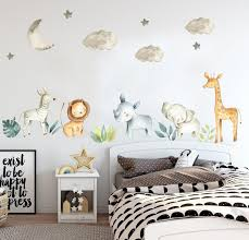 safari nursery decal jungle nursery