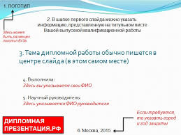 Презентация диплома простым языком о сложном Образец оформления титульного листа дипломной презентации