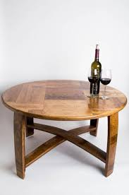napa crate coffee table with cross