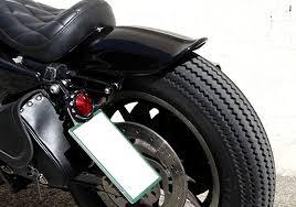 easyriders ribbed bobbed rear fender harley sportster xl 04 06 10