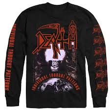 Death Individual Thought Patterns Mesmerizing Death Individual Thought Patterns Longsleeve Relapse Records