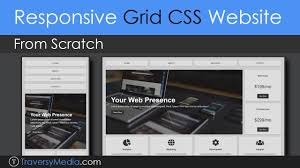 Design Grids For Web Pages Build A Responsive Grid Css Website Layout From Scratch