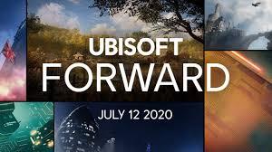 Ubisoft Forward - July 12 at 9:00 PM CET