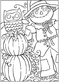 Small Picture Fall Preschool Coloring Pages Free Fall Printables For Kids