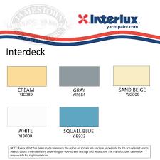 Interlux Paint Chart Interdeck Colors Bahangit Co