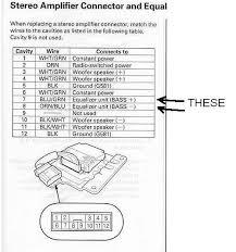 Nissan Maxima Bose Car Stereo Wiring Diagrams Car Stereo Wiring Colors