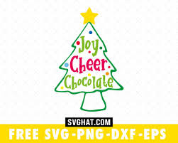 Fast shipping, responsive customer service, and quality products. Joy Cheer Chocolate Christmas Tree Svg Files Free For Cricut And Silhouette Free Christmas Svg Cut Files Merry Christmas Svg Svg Christmas Tree Christmas Svg Cut File Svghat