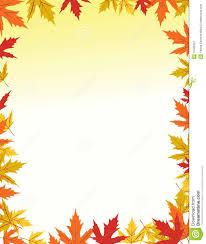 Border Designs Images Pictures Autumn Border Design Stock Vector Illustration Of Orange