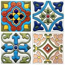 4X4 Decorative Tiles High Relief 100x100 LOVE THESE TILES Ordering Home Pinterest 4