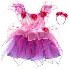 Dress Up By Design Fairy Girls Pink Fairy Dress Up Costume