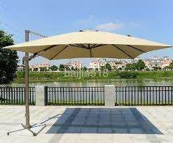 10u0027 Offset Tilt Patio Umbrella Sun Shade 1   DIYTrade