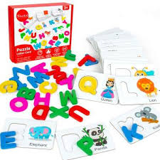 Youwo Puzzle <b>Letter Card Alphabet</b> Flash <b>Cards</b> Wooden <b>Letters</b> ...