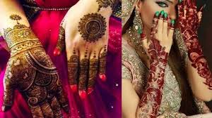 Red Cone Mehandi Designs 9 Modern And Attractive Red Cone Mehndi Designs Styles At Life