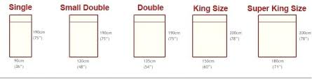 Bed Sizes Chart Embellishyournest Info