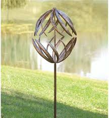 spinning garden ornaments gorgeous design ideas wind spinners whirligigs for your garden wind weather spinning