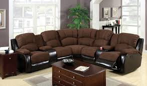 FA6557  Wolcott Reclining Sectional With Cup Holders And Storage Recliner With Cup Holder And Storage N17