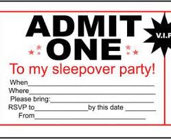 sleepover template sleepover birthday party invitations sleepover birthday party