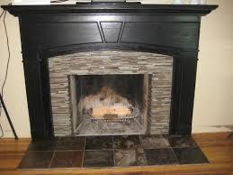 amazing slate tile fireplace surround 14 living in high gloss tiling the fireplace surround