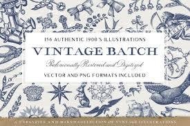 Vintage Illustrations 156 Misc Vintage Illustrations Pack Inspiration Hut Marketplace
