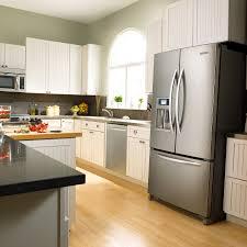 Refrigerator In Kitchen Modern Kitchen Glubdubs