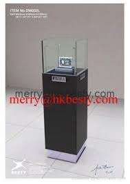 Standing Watch Display Case glass watch display cubejewelry standing case in retail store and 8
