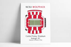 Carter Finley Stadium Nc State Wolfpack Football Ncsu Raleigh Nc Carter Finley Carter Finely Wolfpack Football Nc State Football