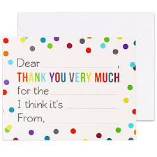 Buy Thank You Cards Baby Stationery Online Baby For Sale
