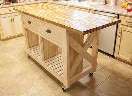 Kitchen Island Table On Wheels Furniture On Wheels Always Where You Need It In No Time