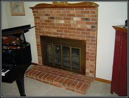 leave fireplace glass doors open or closed insert