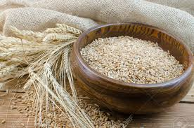Refined Grains Spikes Of Wheat And Refined Grains Stock Photo Picture And Royalty