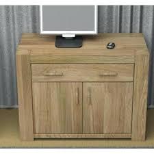 atlas chunky oak hidden home. Hidden Home Office Desk Atlas Chunky Oak Baumhaus Solid H