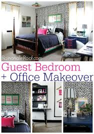 office guest room ideas. Brilliant Room Guest Bedroom  Office Reveal Guest Ideas Via RainonaTinRoofcom  Guestbedroom And Room Ideas I