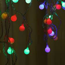 Natal Circle Holiday Lights Christmas Decoration New Year 2015 Led Lighting Strings