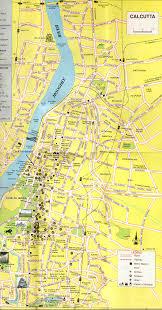 calcutta city map