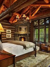 Log Cabin Bedroom Log Cabin Bedroom With Fireplace 2017 Matakichicom Best Home