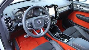 2018 volvo interior. beautiful volvo 2018 volvo xc40 interior with volvo t